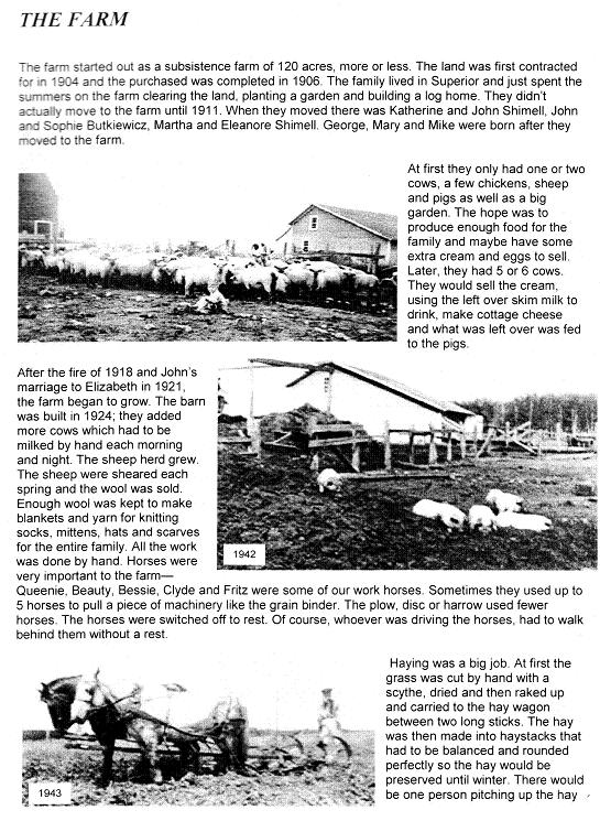 Farm History Page one