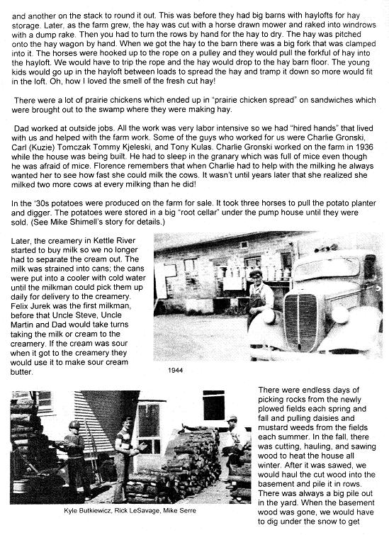 Farm History Page two